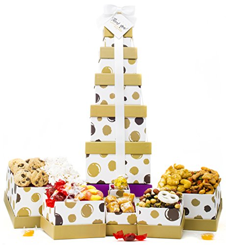 Thank You Gift Basket   Box Tower   6 Tier