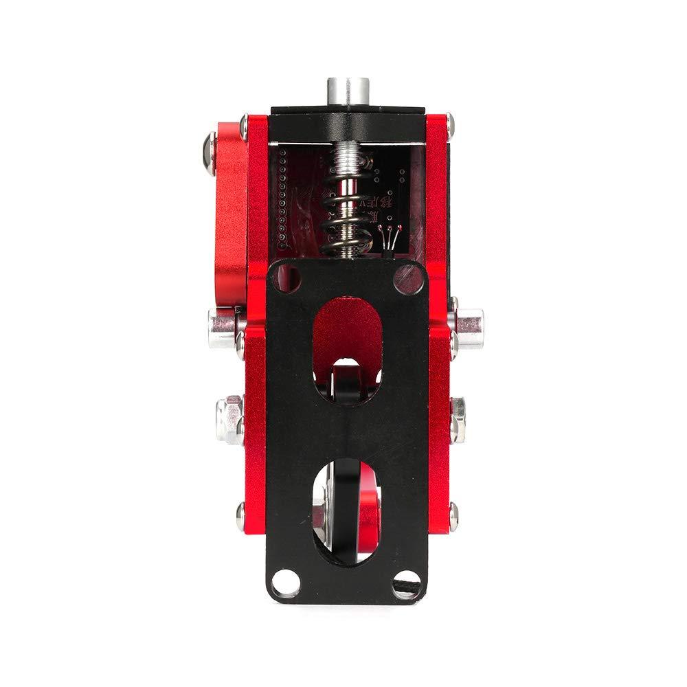 Gaoominy Nuevo Sistema de Freno 14 bit Hall Sensor USB Freno de Mano Sim para Juegos de Carreras G25 27//29 T300 T500 Fanatec Osw Dirt Rally Rojo