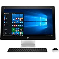 HP Pavilion 27-Inch Full HD TouchSmart Touchscreen All-in-One Desktop Flapship Edition (Intel Core i7-6700T Quad-Core, 12GB, 1TB, DVD, Windows 10 Home), Silver