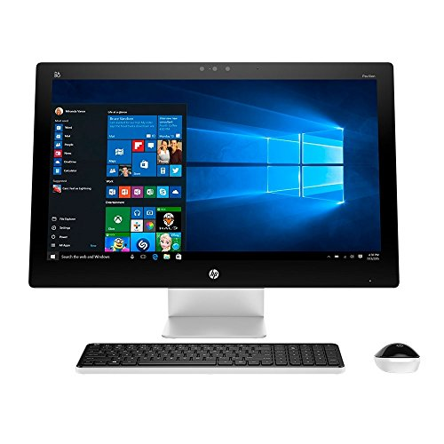 HP Pavilion 27-Inch Full HD TouchSmart Touchscreen All-in-One Desktop Flapship Edition (Intel Core i7-6700T Quad-Core, 12GB, 1TB, DVD, Windows 10 Home), Silver (Hp Touchsmart All In One I7)