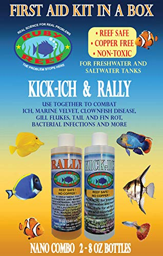 Ruby Reef 74323 Rally Combo Pack, 8 oz
