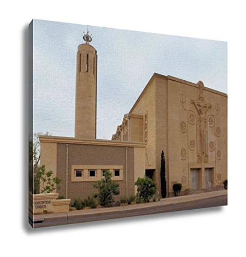 Ashley Canvas, Catholic Church In Albuquerque New Mexico, Home Decoration Office, Ready to Hang, 20x25, AG6309694 by Ashley Canvas