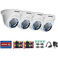 ANNKE (4) 1080P HD-TVI 1920TVL Surveillance Camera Kit with Super Night Vision (4-Packed)