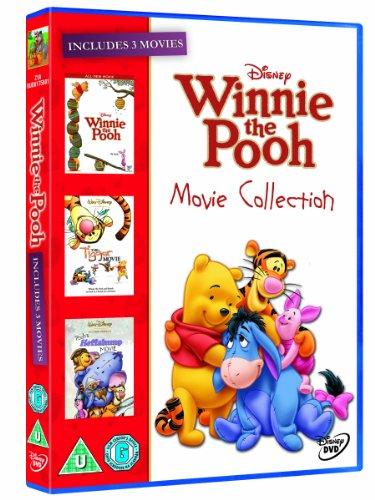 The Winnie the Pooh Movie Collection (Winnie the Pooh Movie/ Heffalump Movie/ Tigger Movie) [DVD]