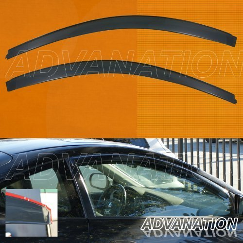 For Acura RSX DC5 02-06 JDM Type R Style Smoke Window Visor Sun Rain Guard Vent
