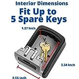 Key Lock Box - Wall Mounted to Keep Your Keys Safe