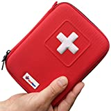 MediSpor Mini First Aid Kit in Red Hard Case – 100 Pieces