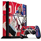 New York Rangers PS4 Console and Controller Bundle Skin - Henrik Lundqvist Rangers Action Shot | NHL & Skinit Skin