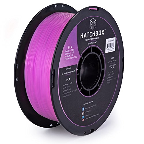 HATCHBOX PLA 1KG1 75 UVPUR Changing Filament Dimensional