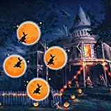 Halloween Christmas Landscape Led Projector Light, 8 Groups Animation Modes for Bedroom Lawn Patio Yard