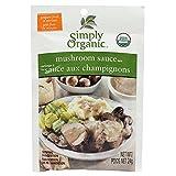 Simply Organic Mushroom Sauce Seasoning Mix , 24g (Pack of 6)