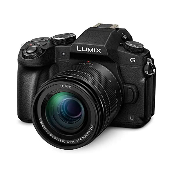 RetinaPix Panasonic Lumix G85 4K Mirrorless Camera with 12-60mm Power O.I.S. Lens