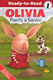 Olivia Plants A Garden (Turtleback School & Library Binding Edition) (Olivia: Ready-to-read, Level 1)