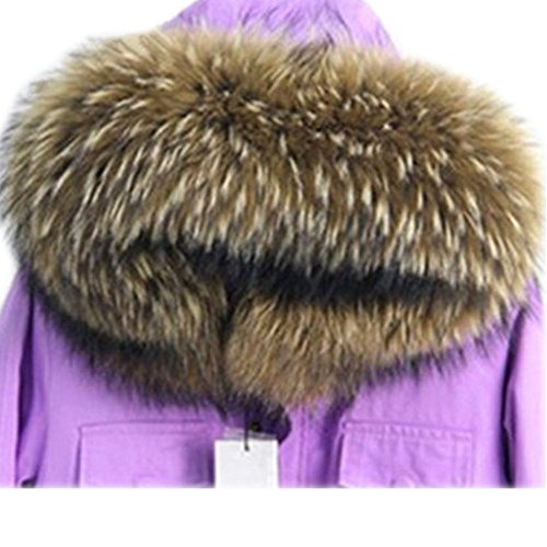Large Real raccoon Fox Fur Winter Collar Scarves Scarf for sale  Delivered anywhere in USA