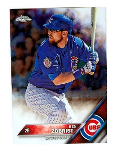 official photos f737f c2d00 Ben Zobrist baseball card (Chicago Cubs World Series) 2016 ...