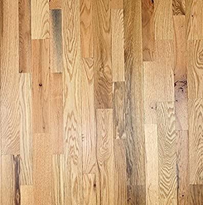 "2 1/4"" x 3/4"" Red Oak #2 Common Unfinished Solid Wood Flooring Samples at Discount Prices by Hurst Hardwoods"