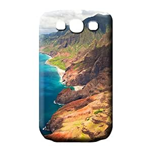 samsung galaxy s3 mobile phone covers High-end Nice Snap On Hard Cases Covers hawaii mountains