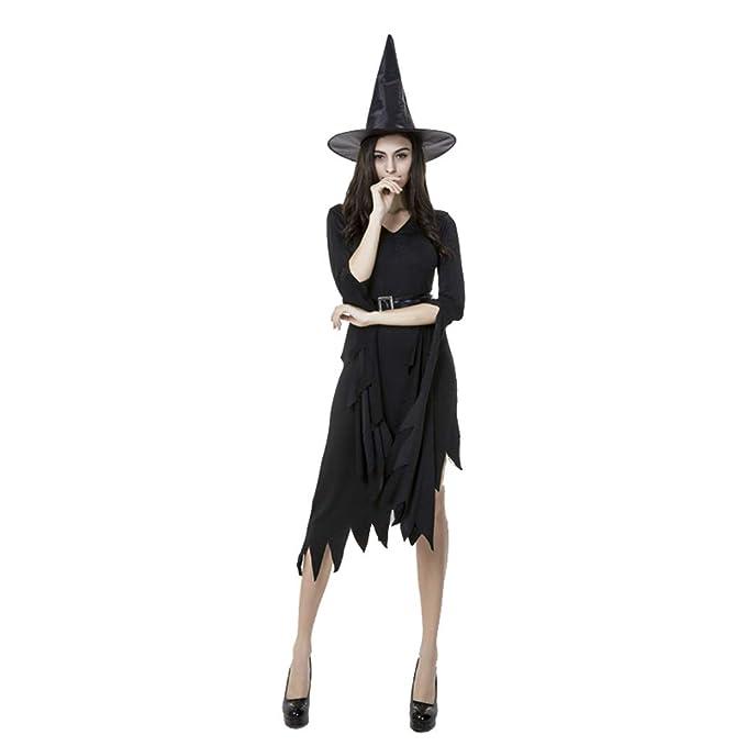 Jeff-chy Disfraces De Brujas para Adultos Disfraz De Bruja Monja ...