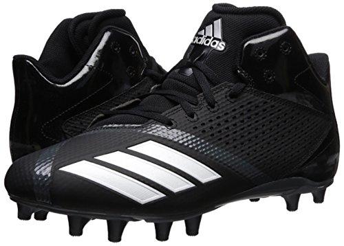 Pictures of adidas Men's Freak X Carbon Mid DA9635 Black/White/Ngtmet 4