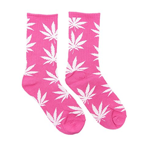 Spring Fever Unisex Marijuana Weed Leaf Printed Crew - To Us From Shipping Usps Canada