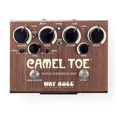 Way Huge Green (Way Huge WHE209 Camel Toe Guitar Triple Overdrive MKII)
