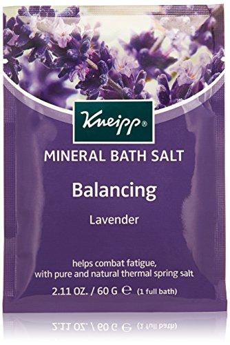 Kneipp Mineral Bath Salt Sachet, Balancing, Lavender, 2.1 fl. (Salt Sachet)