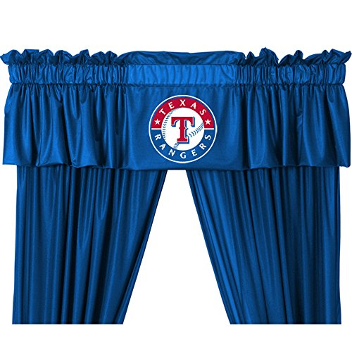 Rangers Valance (Sports Coverage MLB Valance)