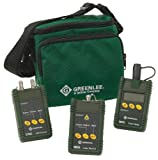 Greenlee 5890-ST Multimode and Single mode Fiber Optic Test Set with ST Interface