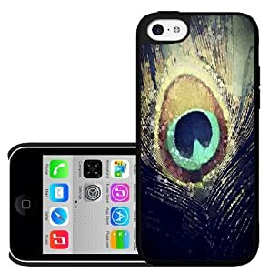 Colorful Peacock Feather Hard Snap on Phone Case (iPhone 6 plus 5.5'')