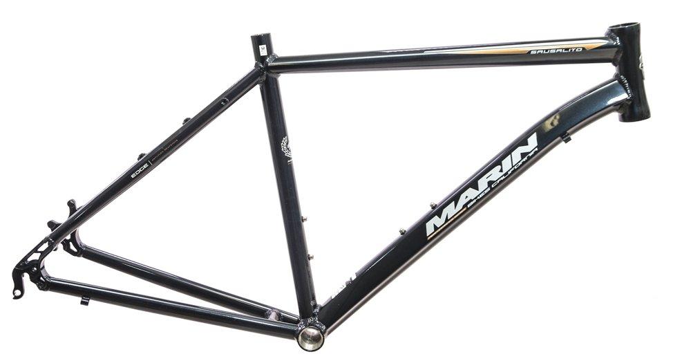 20.5'' Marin Sausalito 700c Hybrid Road Alloy Bike Frame Disc Black Metallic NEW