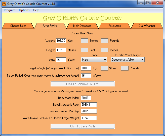 Calorie Counter [Download]