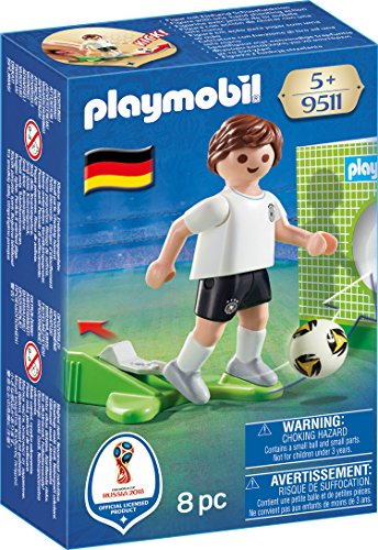 Playmobil Soccer Player Germany Buildable Figure