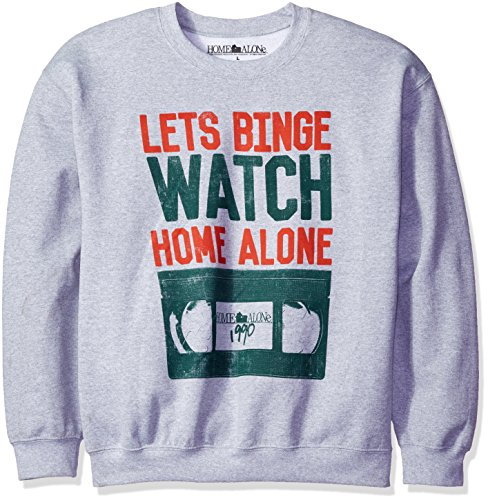 Home Alone Men's Lets Binge Watch Home Alone Christmas Sw...