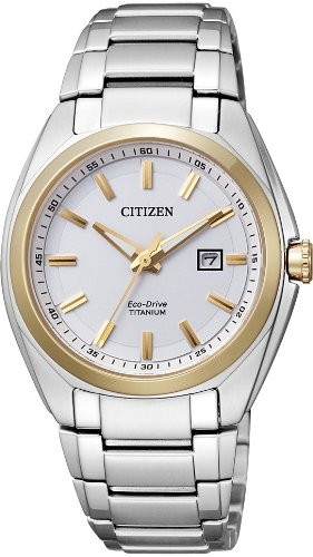 Citizen Super Titanium Ladies 'Watch XS Analogue Quartz Titanium EW2214 52 A