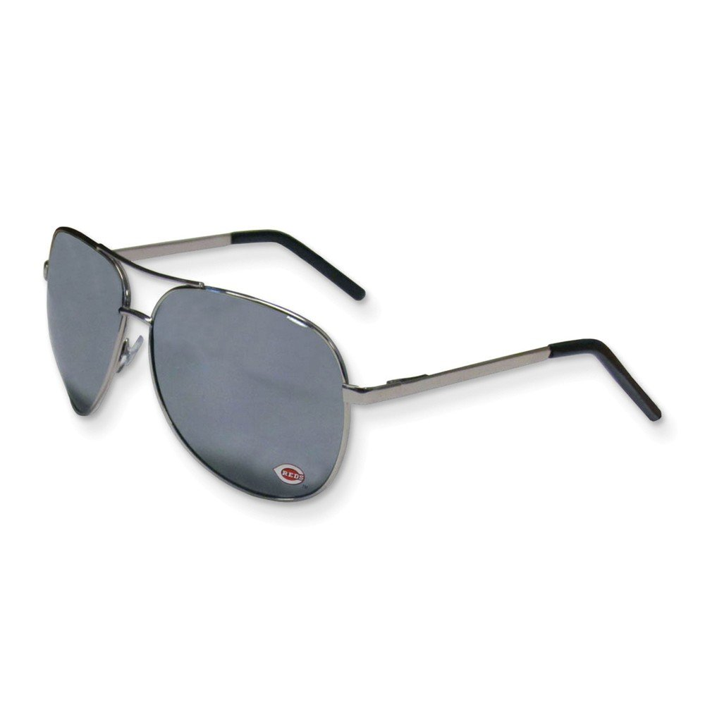 Best Designer Jewelry MLB Siskiyou Buckle Cincinnati Reds Aviator Sunglasses