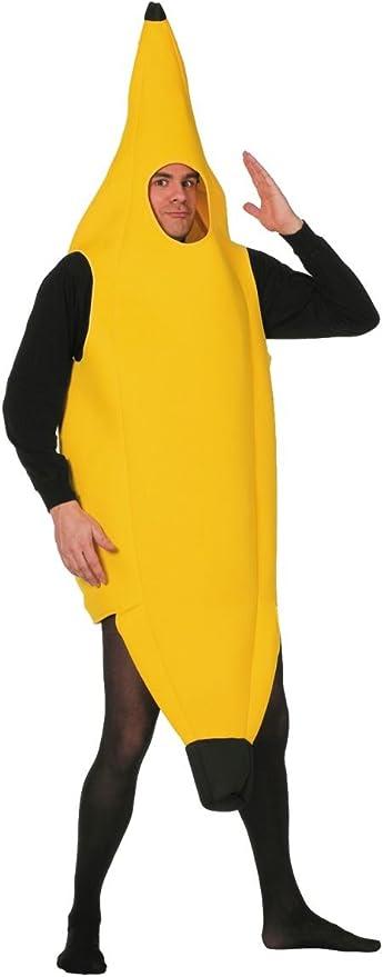 Stekarneval - Disfraz de plátano para hombre, talla 52 (650852 ...