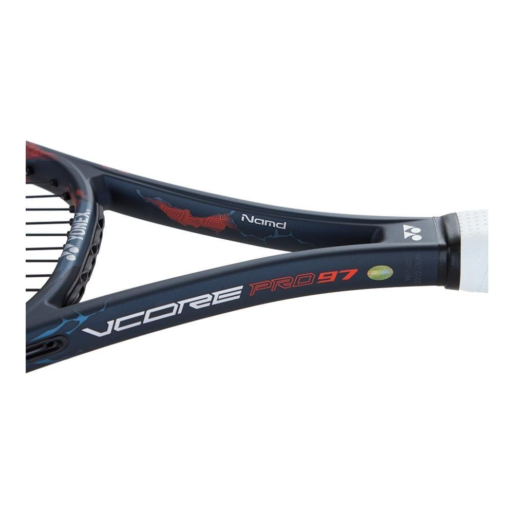 Amazon.com : Yonex VCORE Pro 97 (330g) Black/Blue/Orange ...