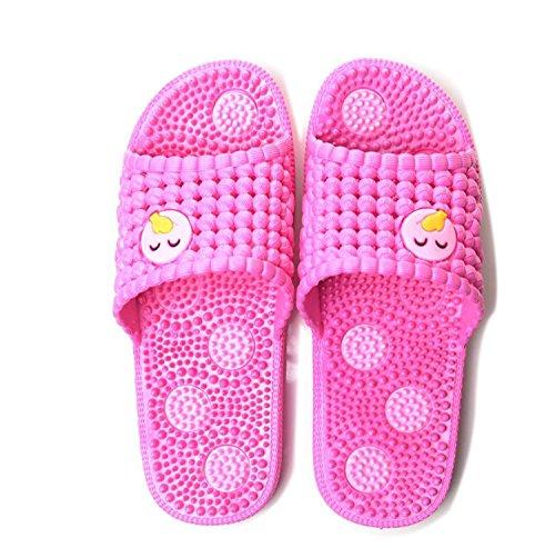 Piercing Ducha Zapatos de Zapatillas caseros Zapatillas Agua baño Rosado Suave Inicio Masaje Mujeres de DANDANJIE Zapatos wHR0pxqw