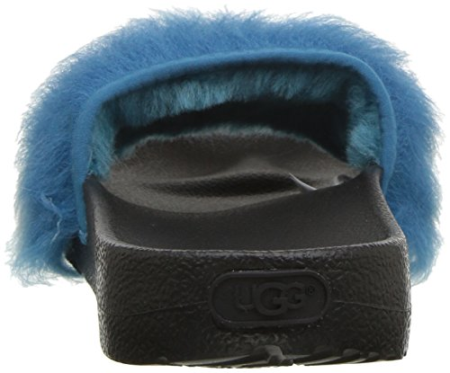 Blue Enamel Ugg Slides Royale Tipped wqxHRtX