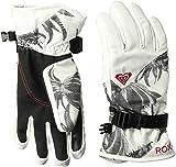 Roxy SNOW Junior's Roxy Jetty Snow Gloves, bright WHITE_SWELL flowers S