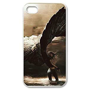 Hard Shell Case Of Angel Customized Bumper Plastic case For Iphone 4/4s by icecream design