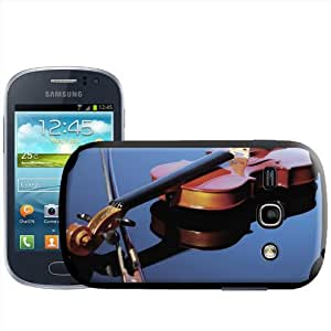 Fancy A Snuggle - Carcasa para Samsung Galaxy Fame S6810, diseño de violín