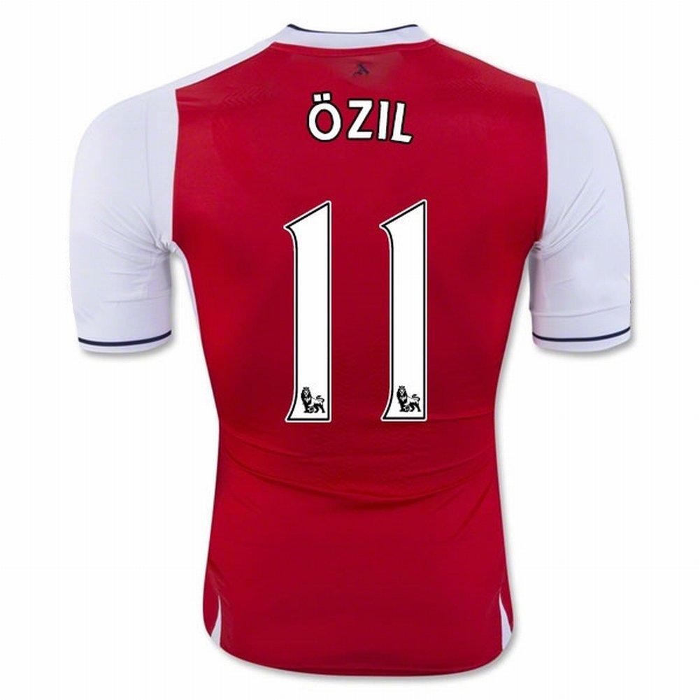 official photos 1c10e 5cb97 Maglia squadra di calcio Arsenal 11 Mesut Ozil Ozil Ozil 2016 2017 in rosso  per nuova stagione, Uomo, rosso, S   Di Qualità Superiore   Cliente Al  Primo ...