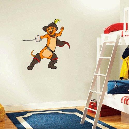 Shrek Puss in Boots Cartoon Wall Decal Sticker 22