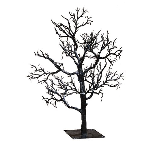 Kurt Adler Twig Tree, 32-Inch, Black - Halloween Christmas Trees