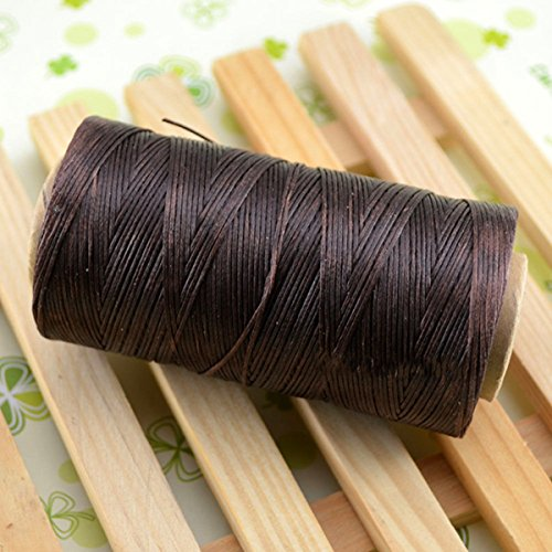 leather sewing thread brown - 8