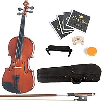 Amazon.com: Eastar EVA-1 1/2 Natural Violin Set For Beginner ...