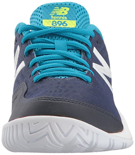 New Chaussures Dur maldives Wch89 Pour Blue Cuir En Navy Femmes Balance rFwq5r