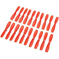 BangBang 10 Pairs Racerstar 2030 R-BN55 55mm 2 Blade Bullnose Propeller 1.5mm Hole For 1103-1106 Motor (10 Pairs: Color Red)