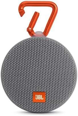 JBL Clip 2 Waterproof Portable Bluetooth Speaker (Gray)